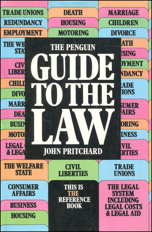 Penguin Guide to the Law, The, Pritchard, John