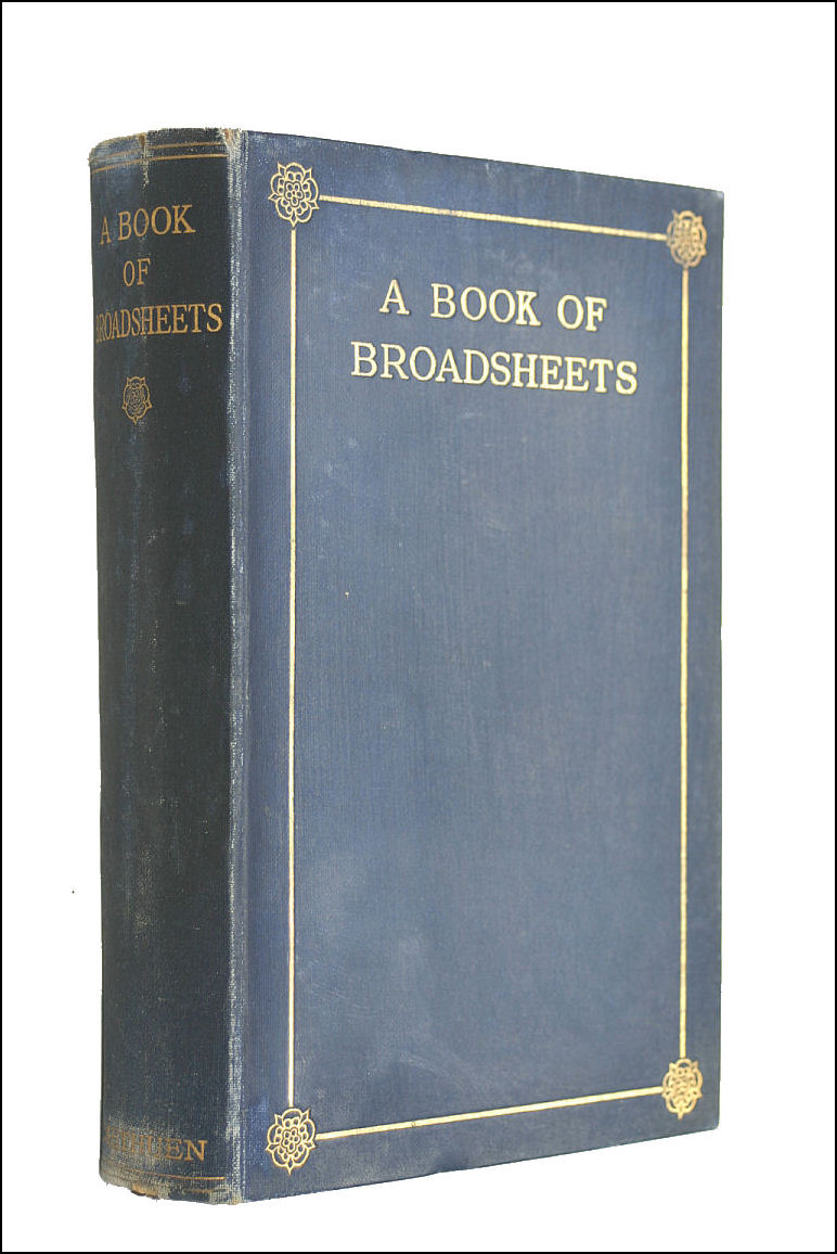 Image for A Book of Broadsheets