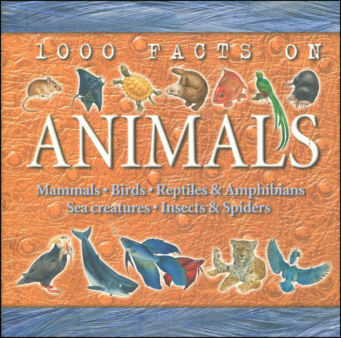 Image for 1000 Facts on Animals