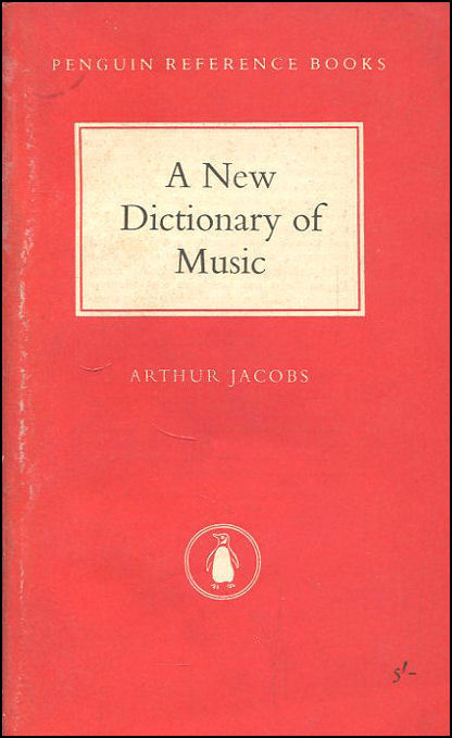 Image for A New Dictionary of Music