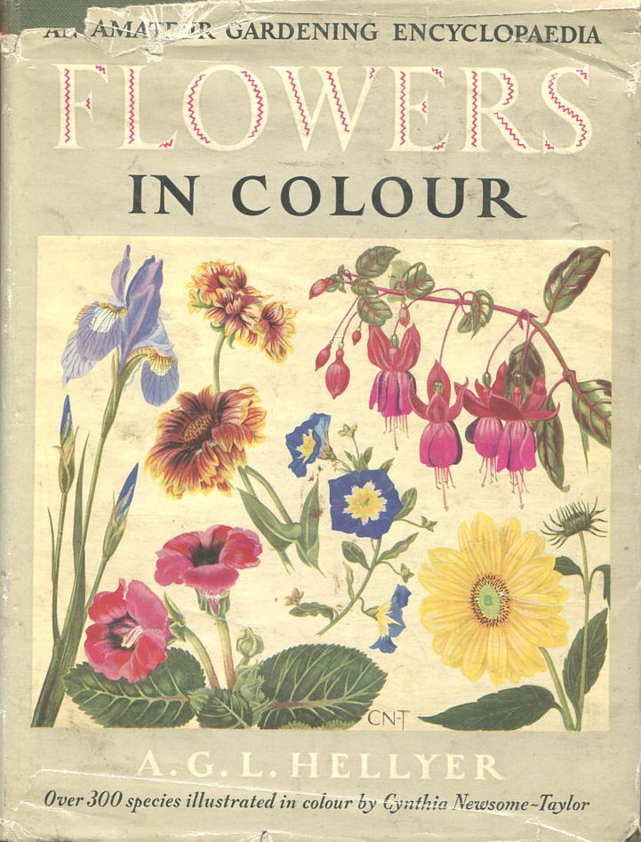 Flowers in colour. An amateur gardening encyclopaedia., A G Hellyer