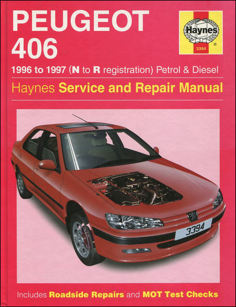 Image for Haynes Owners and Workshop Car Manual Peugeot 406 Petrol and Diesel
