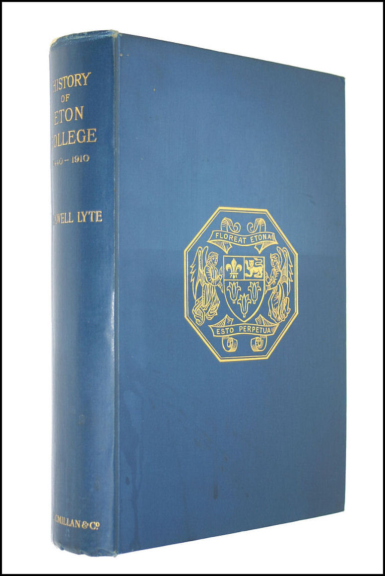 Image for A History of Eton College (1440-1910)