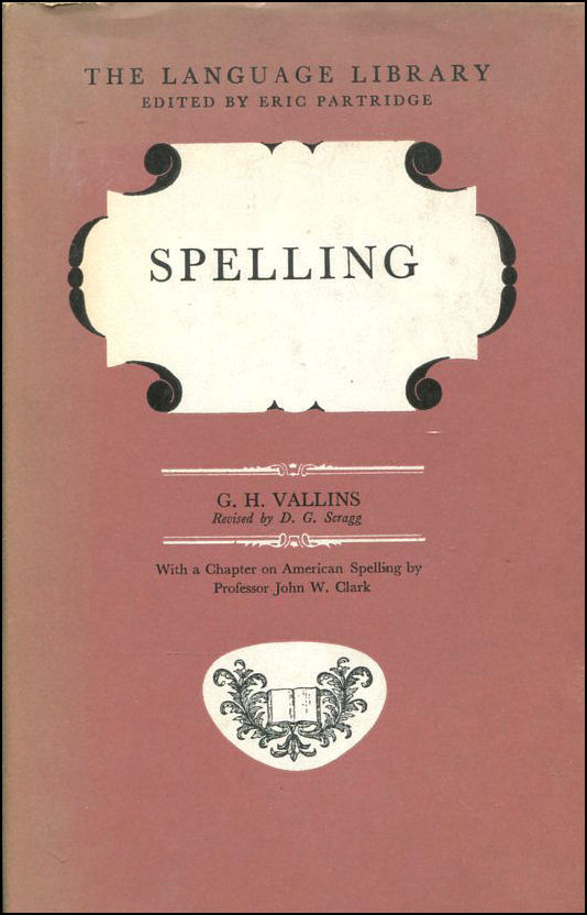 Image for Spelling (The Language Library)