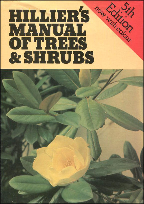 Image for Hillier's Manual of Trees and Shrubs