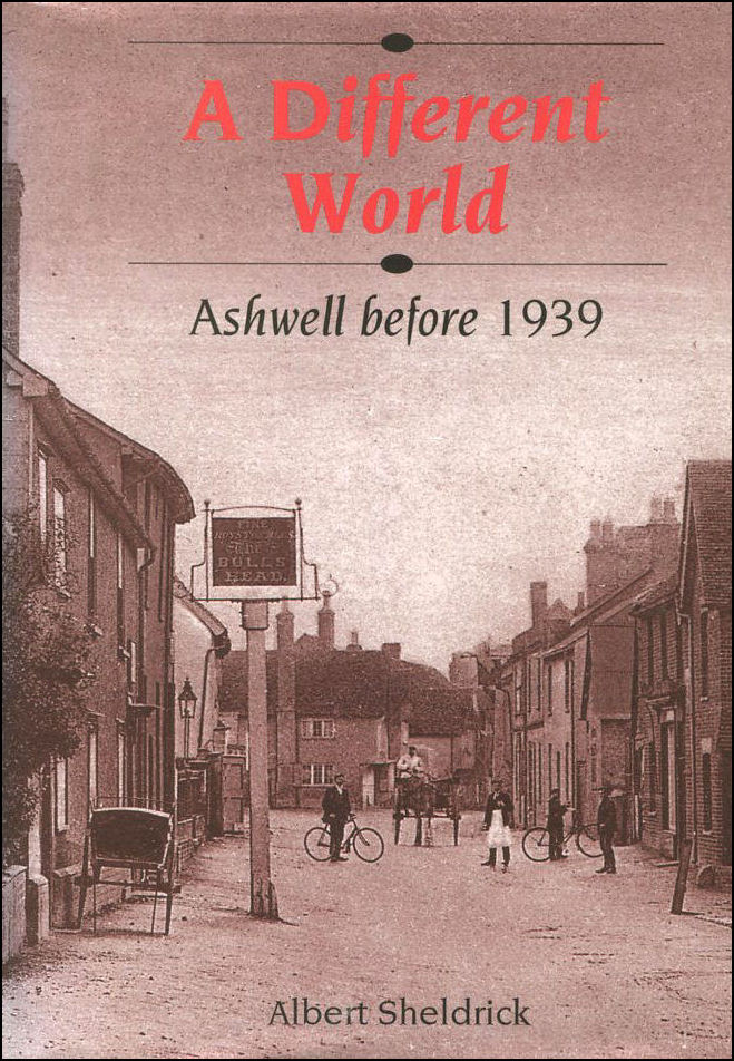 Image for A Different World: Ashwell Before 1939