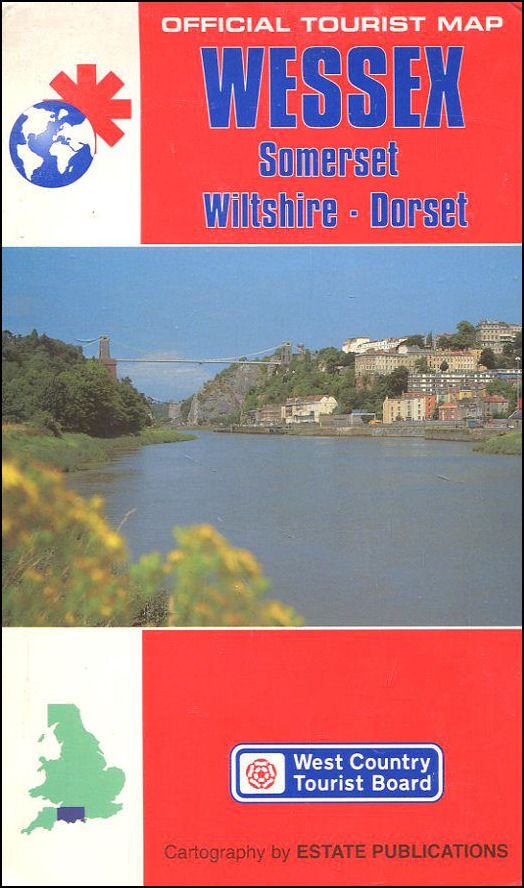 Image for Wessex (Official Tourist Map)
