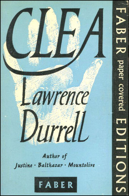 Clea, Durrell, Lawrence.