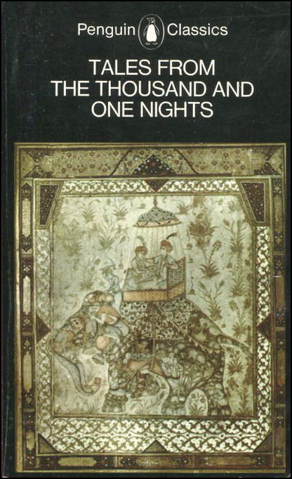 Tales from the Thousand and One Nights (Arabian Nights), Harvey, William [Illustrator]; Dawood, N.J. [Translator];