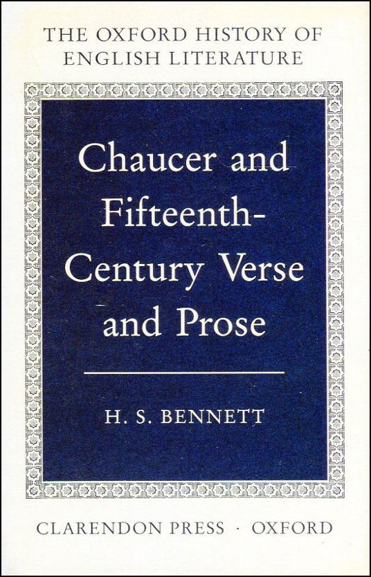 Image for Chaucer and Fifteenth-Century Verse and Prose (Oxford History of English Literature)