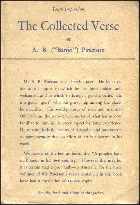 The Collected Verse of A B (Banjo) Paterson, A B Paterson