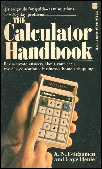 The Calculator Handbook, Feldzamen, A. N