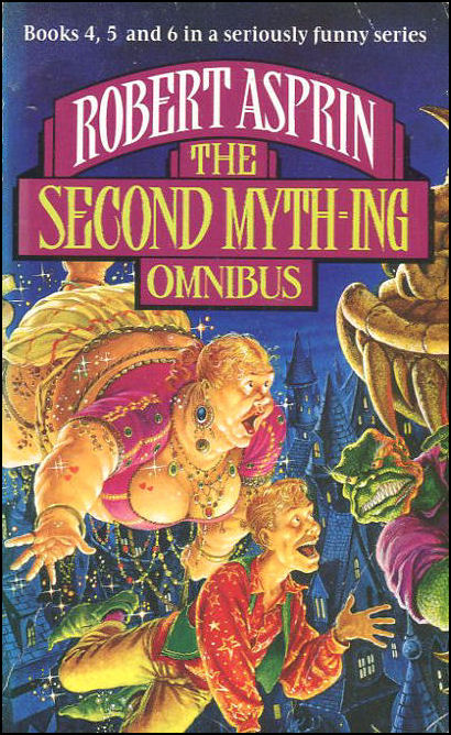 Image for The Second Myth-ing Omnibus
