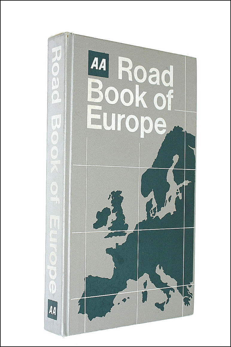 Aa Road Book Of Europe