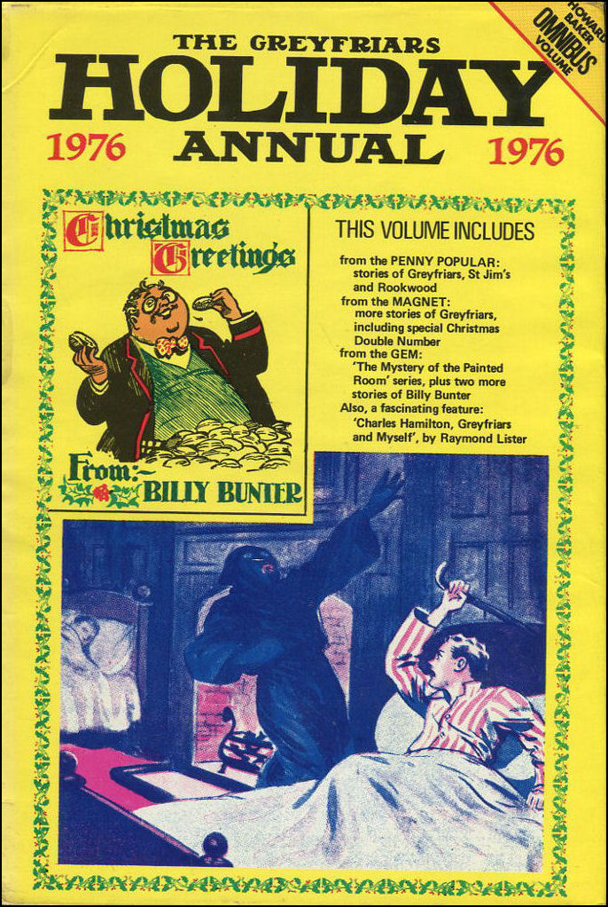 Greyfriars Holiday Annual 1976, Frank Richards