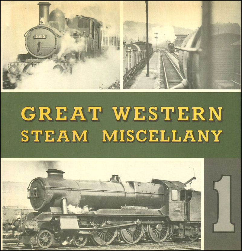Image for Great Western Steam Miscellany 1