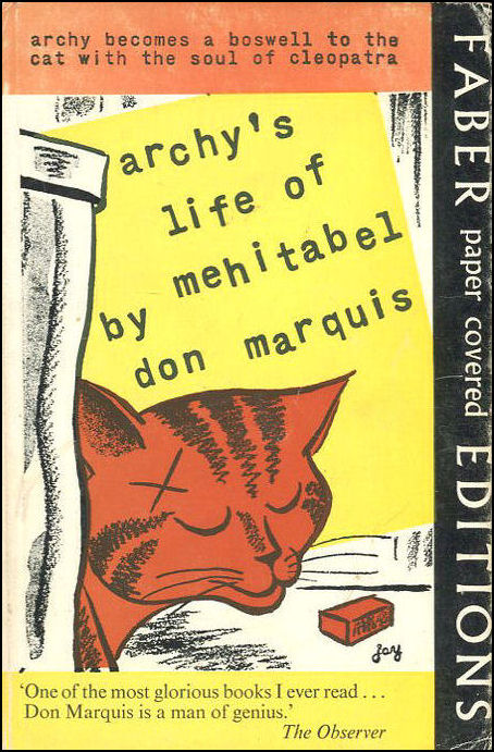 Archy's Life of Mehitabel, Marquis, Don