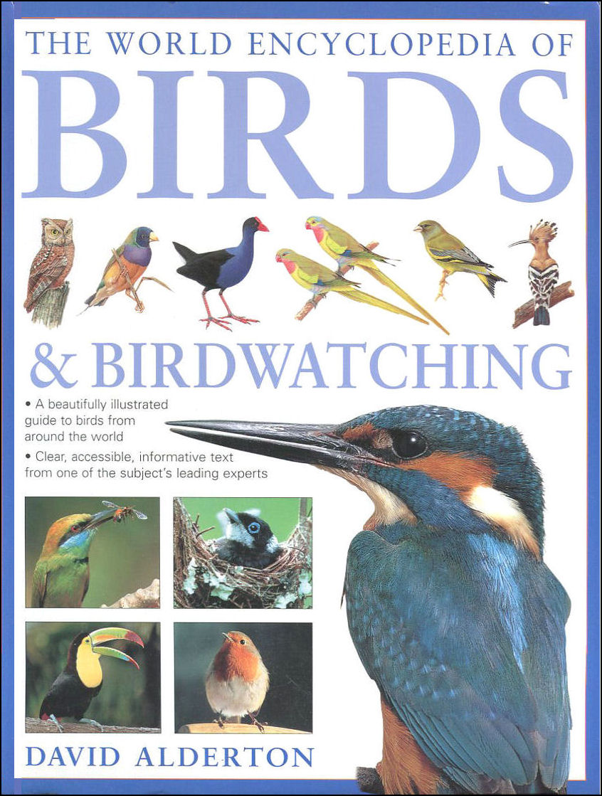 The World Encyclopedia of Birds and Birdwatching, Alderton, David
