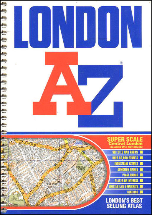 A-Z London Street Atlas 2002