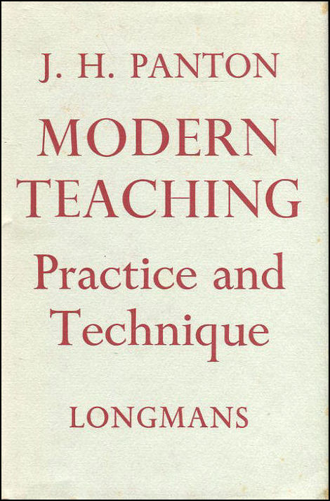 Image for Modern Teaching: Practice and Technique