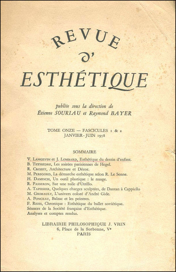 Image for Revenue d'Esthetique