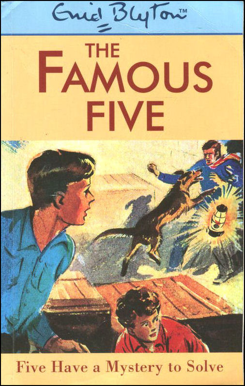 Image for Five Have a Mystery to Solve (Galaxy Children's Large Print Books)