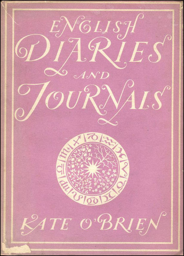 English Diaries And Journals, Kate O'Brien