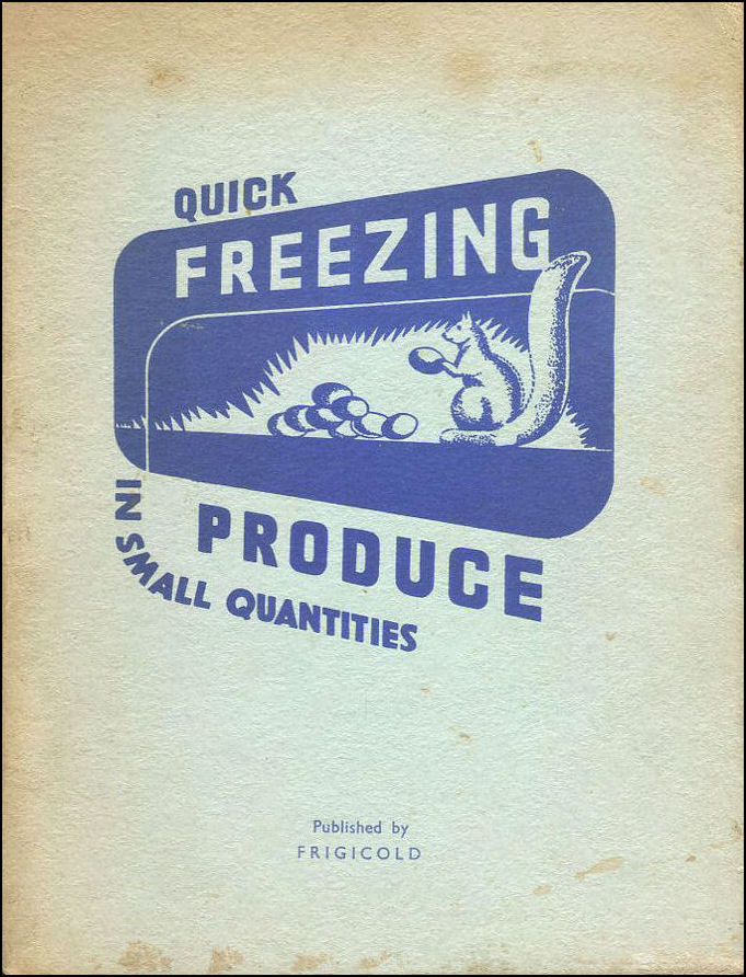 Quick Freezing Produce In Small Quantities