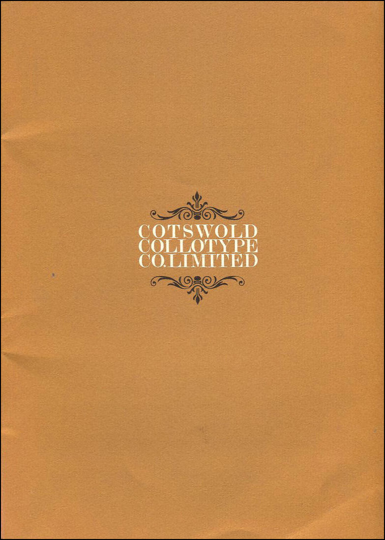 Cotswold Collotype Co. Limited, James L Clement