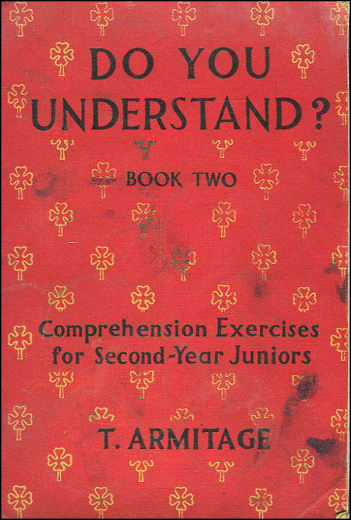 Image for Do You Understand? Book Two: Comprehension Exercises For Second Year Juniors