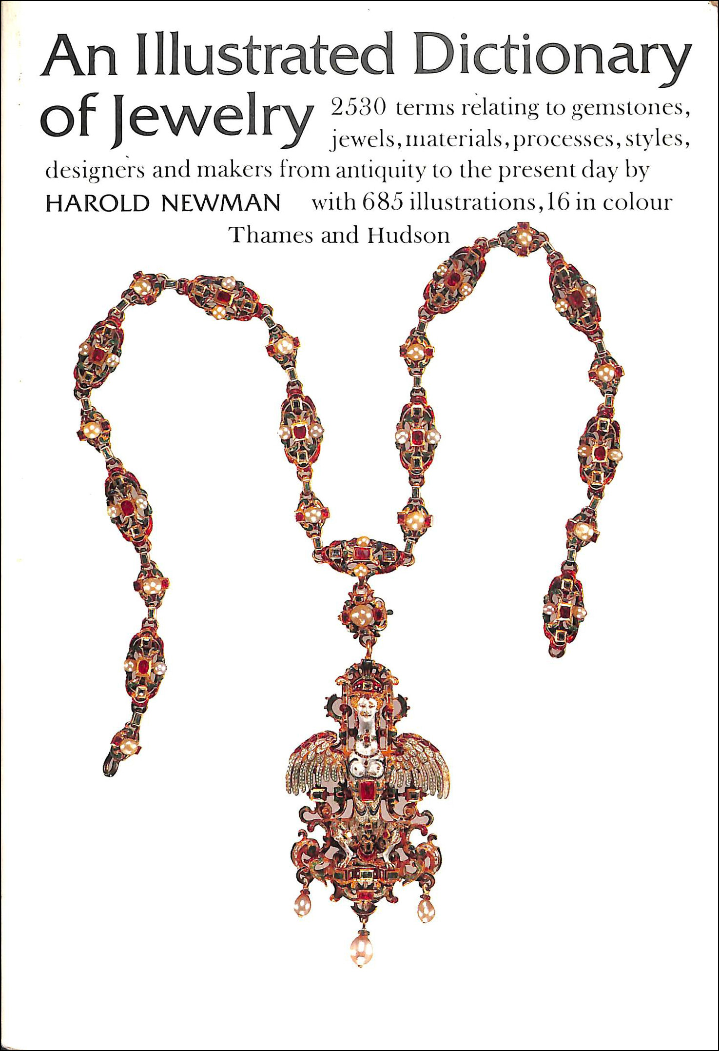 Image for An Illustrated Dictionary of Jewelry