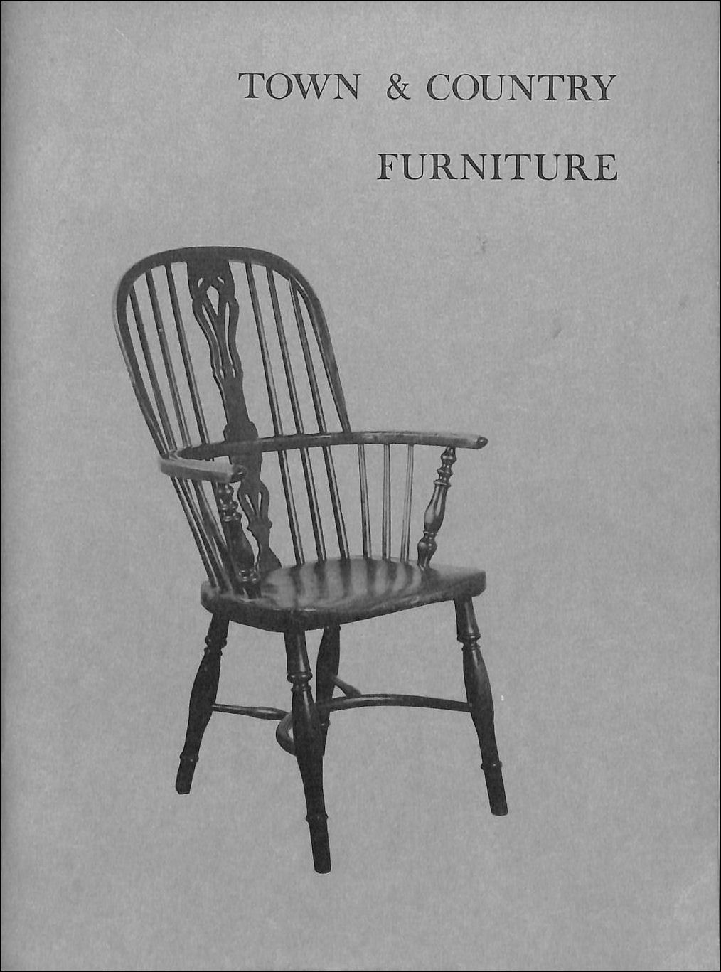 Image for An Exhibition Of Town And Country Furniture