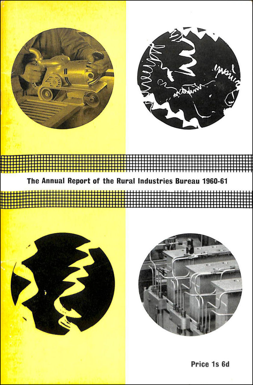 The Annual Report of the Rural Industries Bureau 1960-61, Rural Industries Bureau