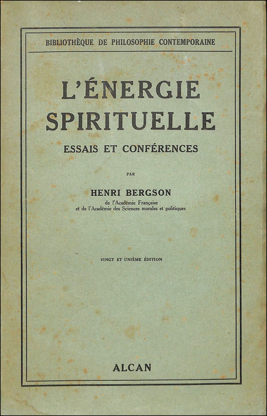 Image for L'Energie Spirituelle