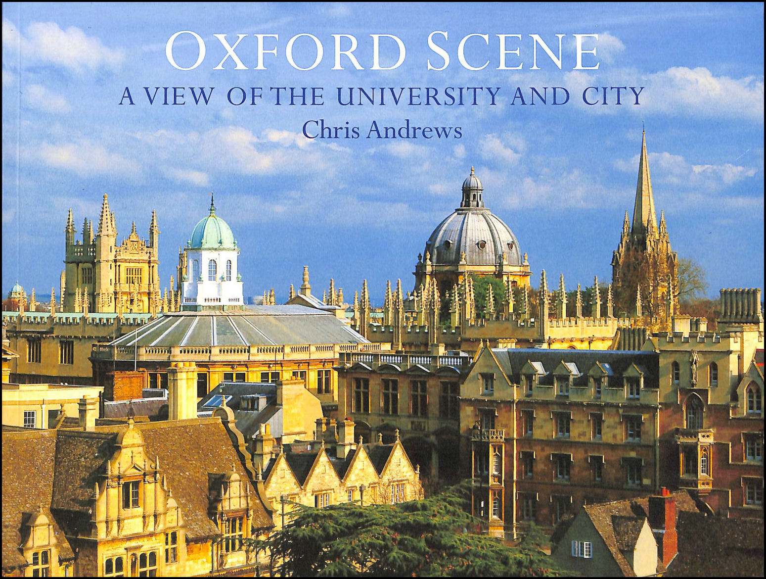 Image for Oxford Scene: a View of the University and City