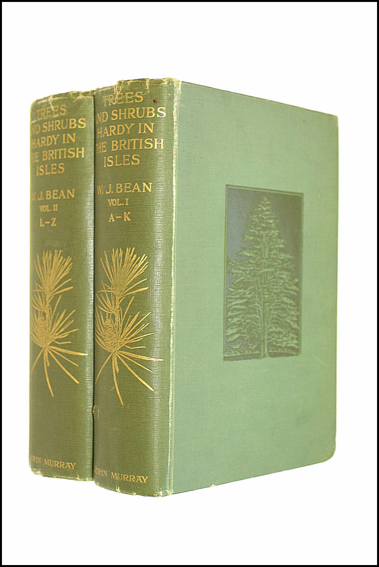 Trees and Shrubs Hardy in the British Isles Two Vols, Bean, W. J.
