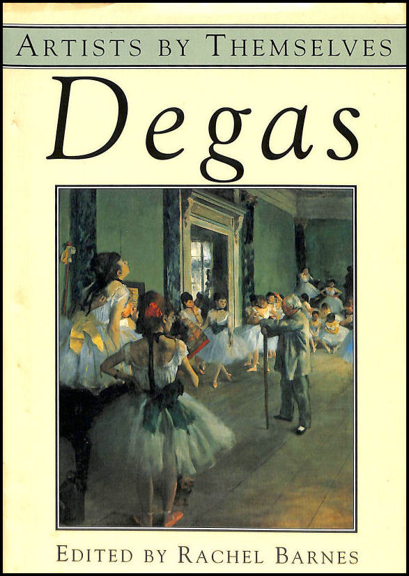 Image for Degas (Artists by Themselves S.)