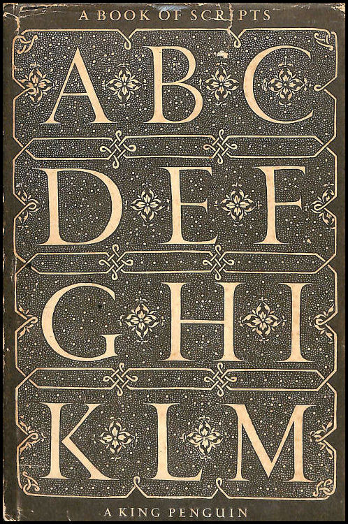 A Book of Scripts, Alfred Fairbank