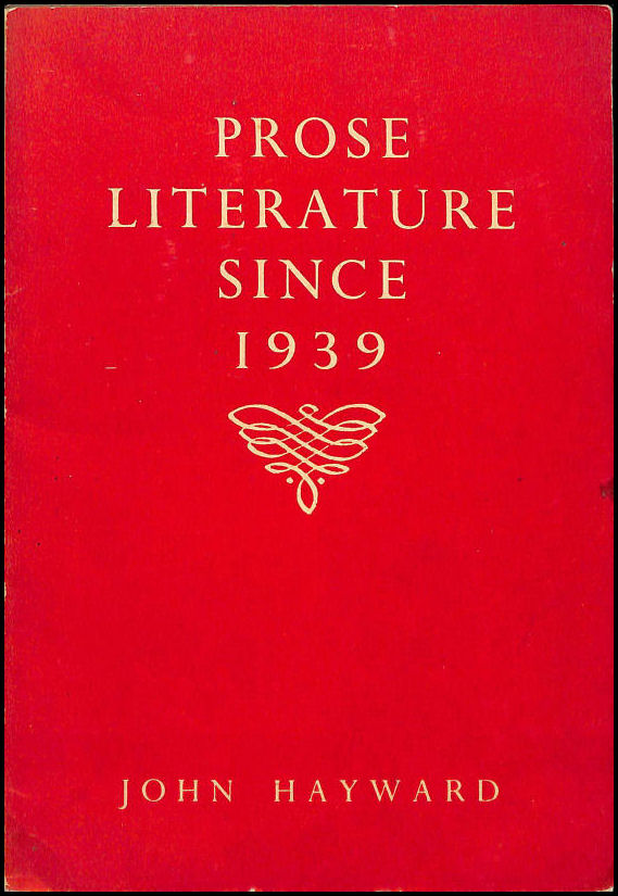 Image for Prose Literature Since 1939