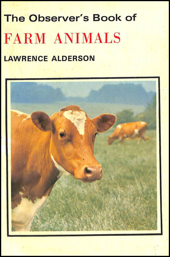 The Observer's Book of Farm Animals, Alderson, Lawrence
