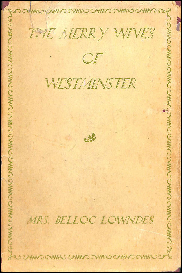 Image for The Merry Wives of Westminster