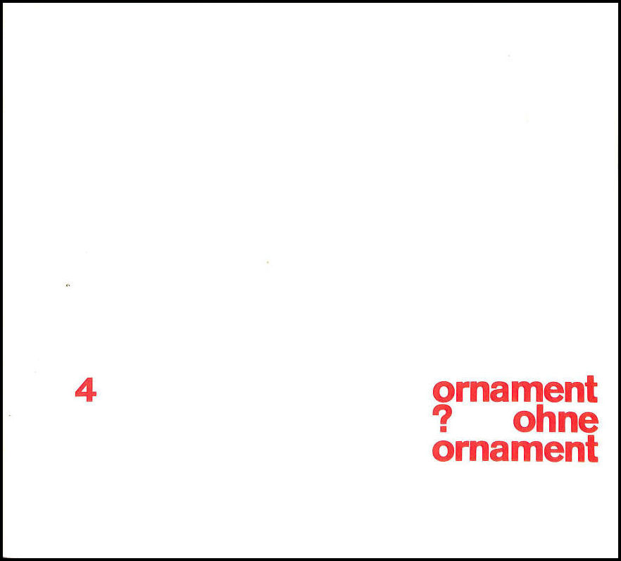 Image for ornament ohne ornament?. 4