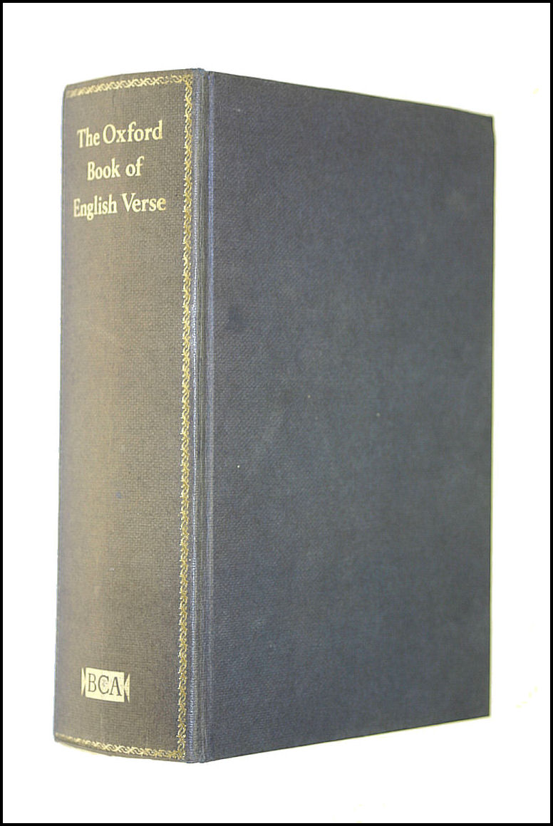 The Oxford Book Of English Verse 1250-1918, Arthur Quiller-Couch