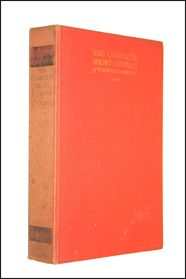 The Complete Short Stories, Volume III, Maugham, W. Somerset