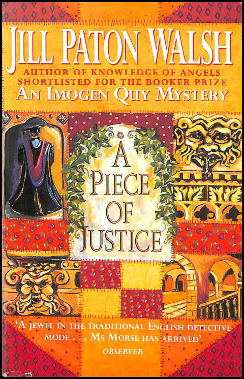 Image for A Piece of Justice (An Imogen Quy Mystery)
