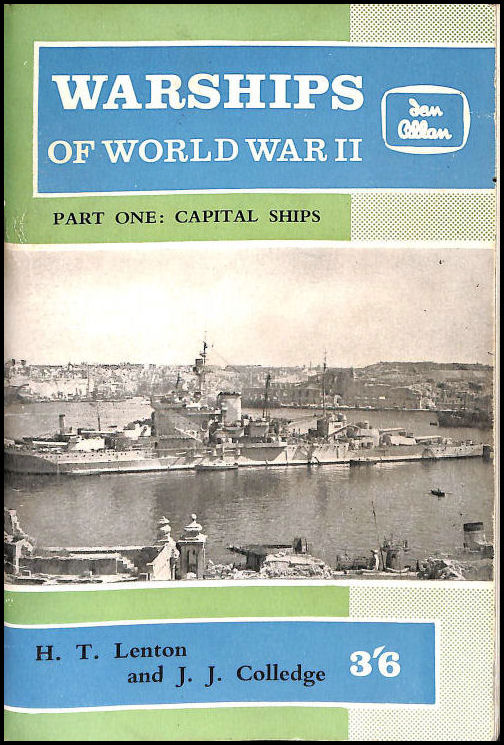 Image for Warships Of World War II - Part One: Capital Ships