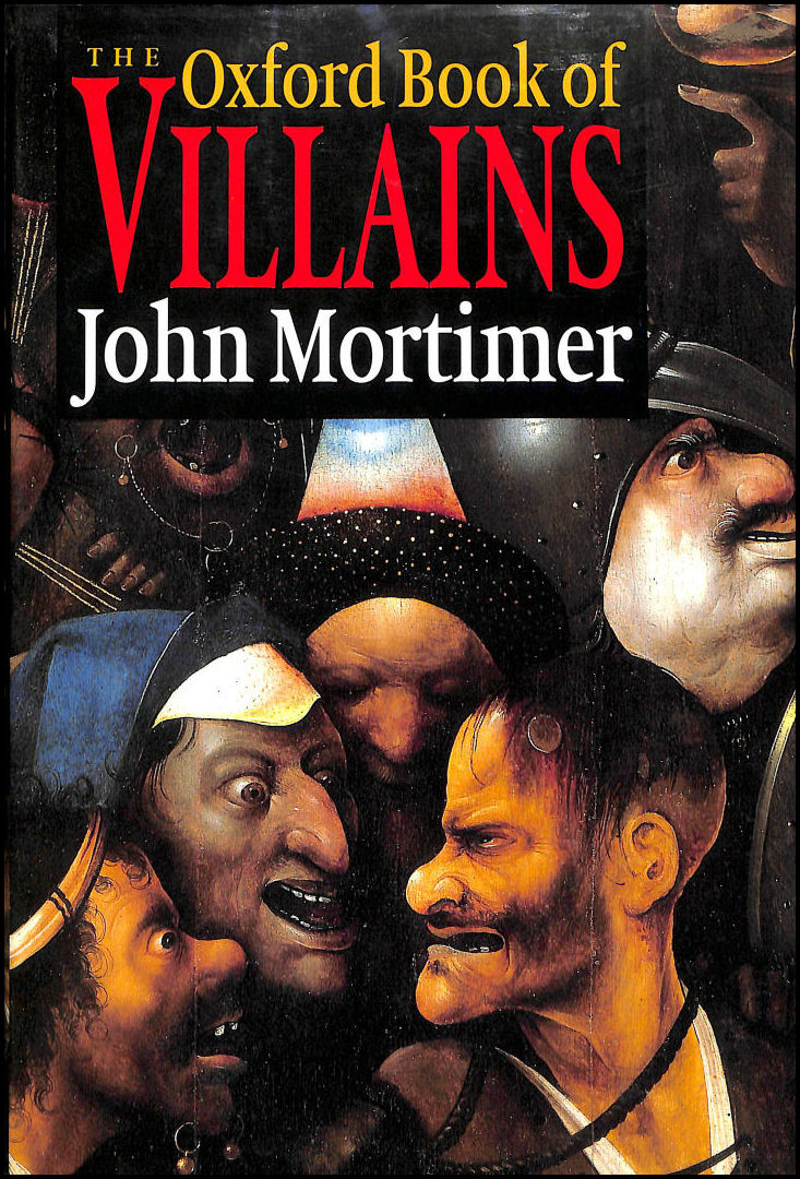 Image for The Oxford Book Of Villains