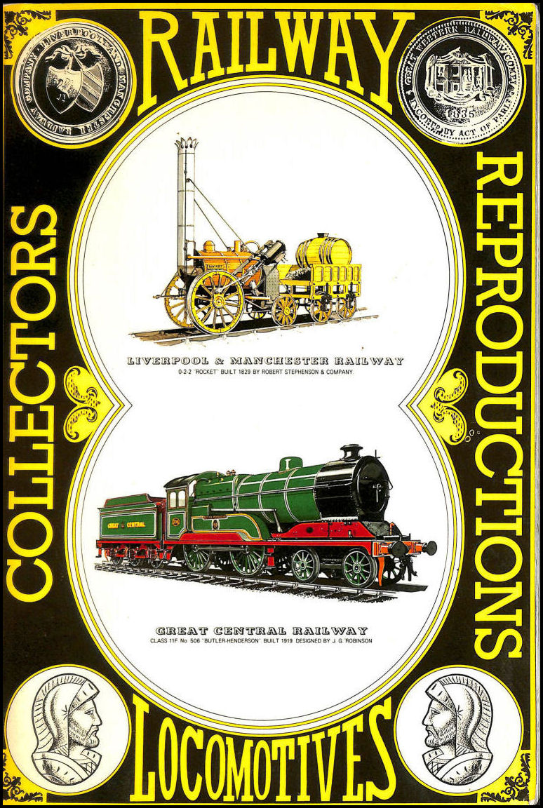 Railway Locomotives Collectors Reproductions. Railed Transport No. 1
