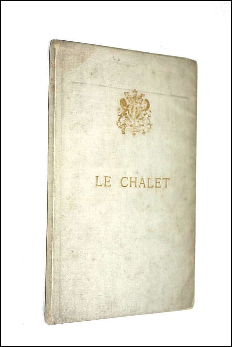Le Chalet, Libretto of the Windsor Castle Performance, Tuesday, July 4, 1899,, Adolphe Adam
