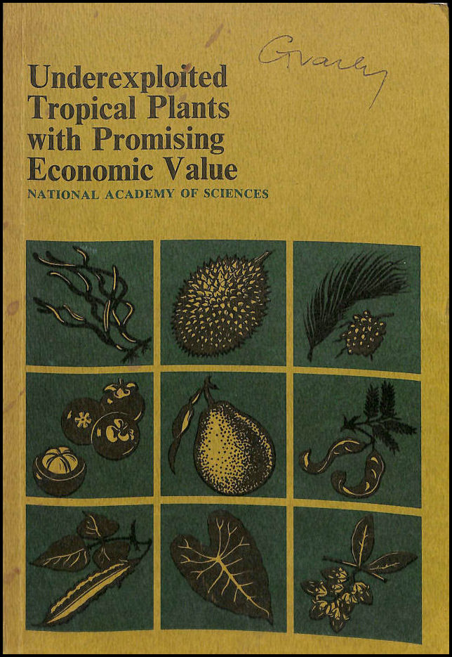 Underexploited Tropical Plants With Promising Economic Value,, INTERNATIONAL DEVELOPMENT COMMISSION